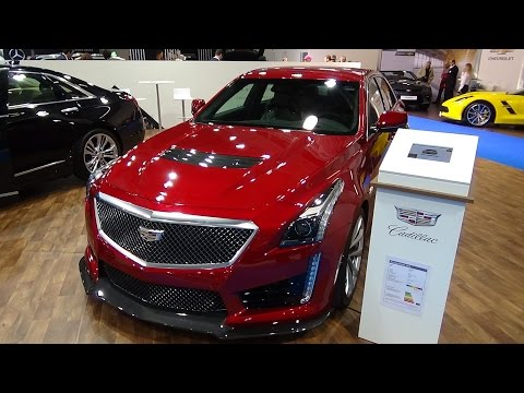 2017 Cadillac CTS-V Sedan - Exterior and Interior - Zürich Car Show 2016