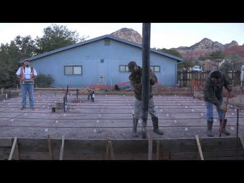 SRMG/Habitat for Humanity 2015 Cement Slab Pour
