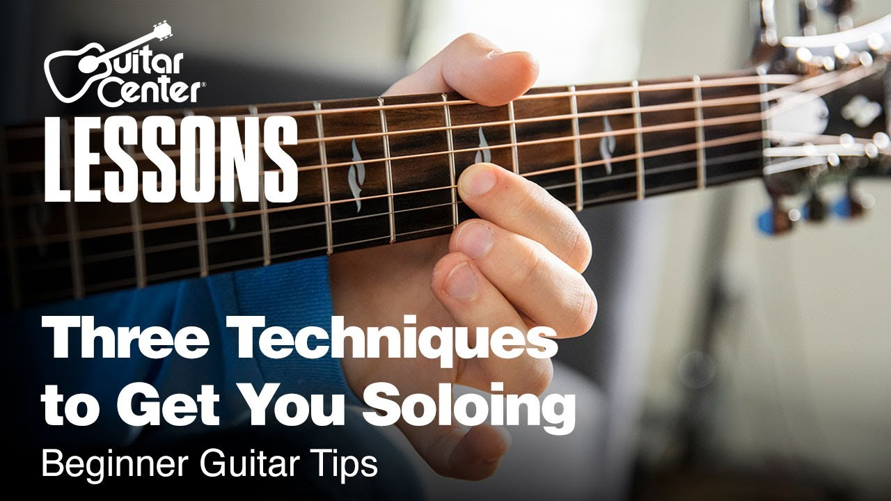Three Techniques to Get You Soloing (Slides, Double Stops, Vibrato) | Beginner Guitar Tips