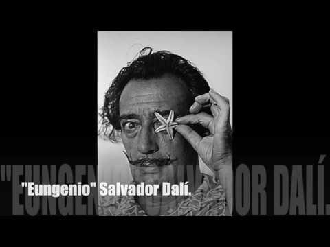 """""""Eungenio""""Salvador Dalí (Mecano-1988 Descanso Dominical) -IS Salvetti 4c"""