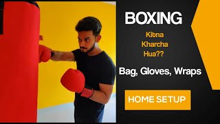 Boxing Punching Bag - Wraps amp Gloves Boxing for Beginners Home Workout Manish Pushkar