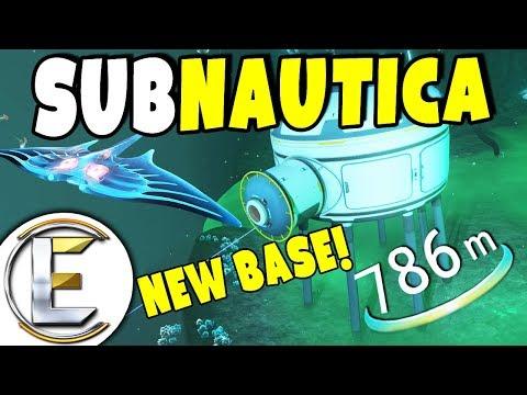 NEW DEEP SEA BASE | Subnautica Survival - Episode 12 (Building a deep ocean base is hard!)