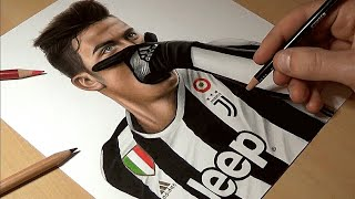 Disegno Dybala - Speed Drawing