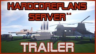 ☢ HARDCORE-FLANS 2.0 TRAILER ︻デ═一 A Flan's Mod PvP Server