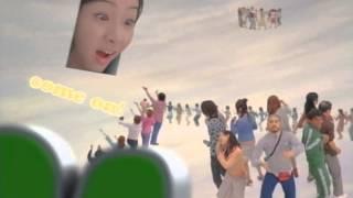 足立梨花 大集合NEO CM 2008年 720p 15秒バージョン.