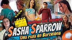 MI PRODUCTORA: La rusa Sasha y lo que NO PUDISTE VER en la escena (Behind The Scenes - BTS)