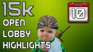 15k Open Lobby Highlights! (COD4-MW3)