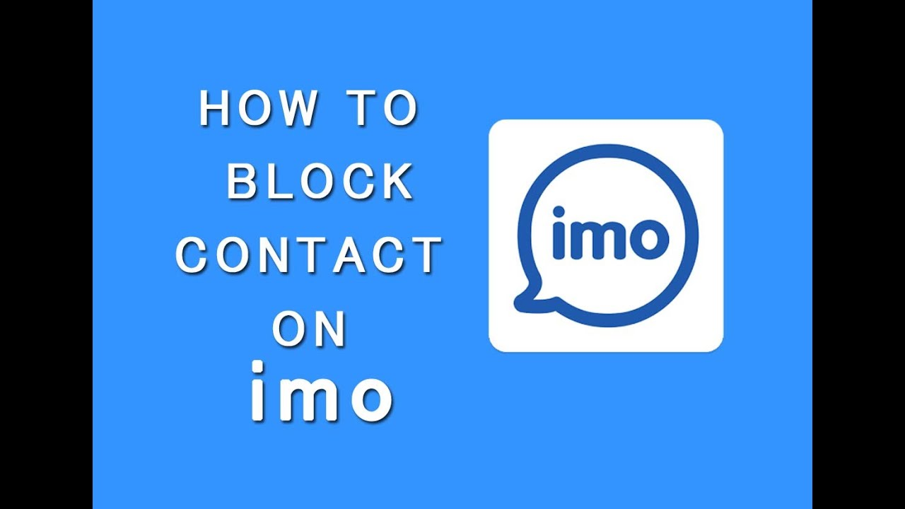 How To Block A Friend On Imo