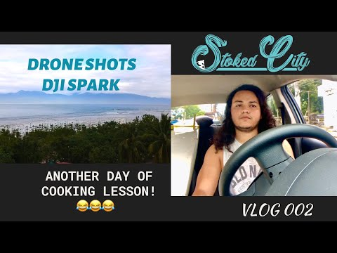 Vlog 002 Stoked City In Baler | DJI Spark Drone Shots Cemento | IPhone Xr Vlog