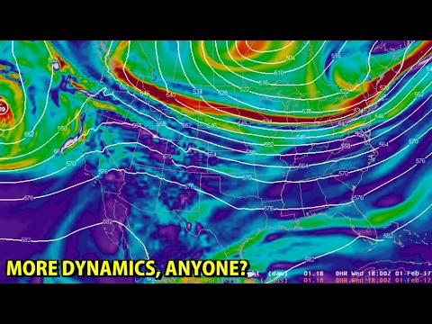 NIGHTLY WEATHER - Wednesday 2/1/2017 - Big changes coming / A bit of dynamics