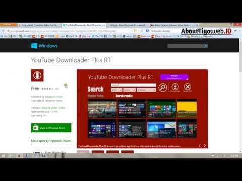 Cara Download YouTube Video Tercepat Di Windows 8