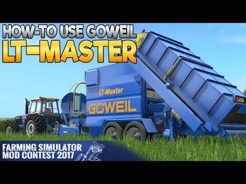 GOWEIL LT-MASTER - Farming Simulator 17 Mod Contest