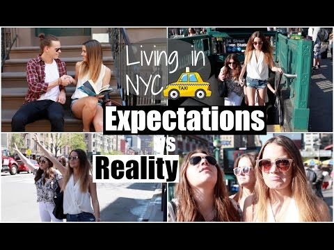 Living in NYC Expectations vs Reality!