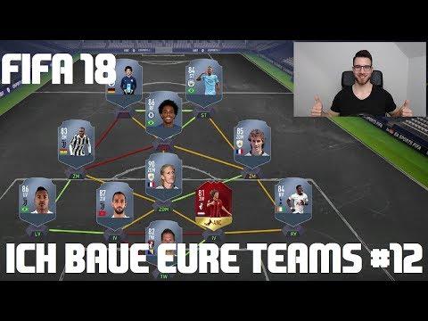 FIFA 18 | ICH BAUE EURE TEAMS #12 💪🔥 1,2 Mio & 2 x 2 Mio Team für die Weekend League | Ultimate Team