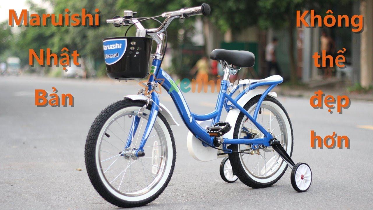 Xe đạp trẻ em Maruishi Astronaut -  Review