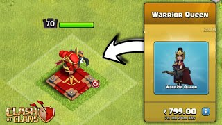 New Archer Queen Skin In Clash Of Clans - Luner New Year Special!