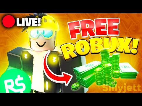 🔴 Free Robux 🔴 in Roblox LIVE! *robux codes* (Roblox Live) free robux giveaway