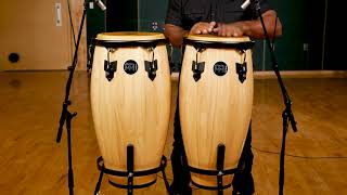 MEINL Percussion - Headliner Congas Set in Natural Color (HC512NT)