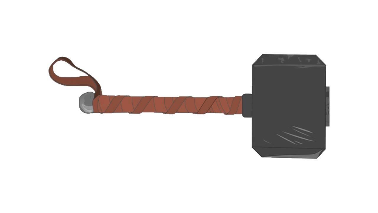 como desenhar o martelo do thor how to draw the thor hammer youtube