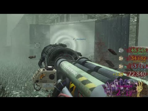 "CRAZY ZOMBIES GUN GAME (37 Guns) ""Call of Duty Zombies"" UGX REQUIEM Custom Zombies"