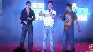 Meet bros anjjan's live performance - shirt da button song kya super kool hain hum