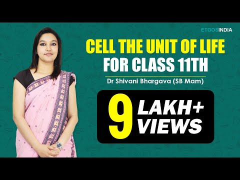 NEET I Biology I Cell The Unit Of Life I Shivani Bhargava(SB) Mam from ETOOSINDIA.COM