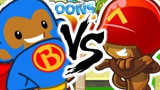 120 ROUND CHALLENGE! INSANE BEST GAME EVER - BLOONS TOWER DEFENSE 5