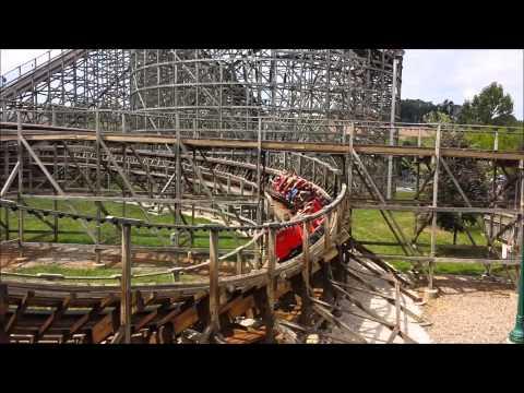 Wildcat at Hersheypark Off-Ride Video