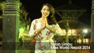 NEPAL, Subin Limbu - Contestant Introduction: Miss World 2014