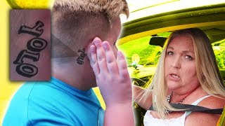 TATTOO PRANK ON MY MOM!