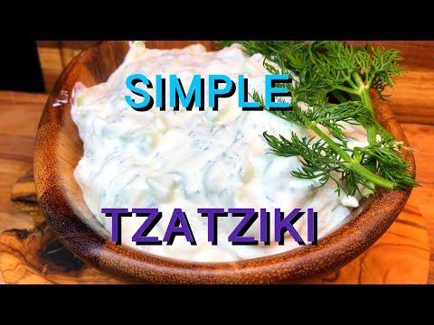 Tzatziki Sauce/ Cucumber Sauce/ Greek Sauce/ How to make Tzatziki sauce