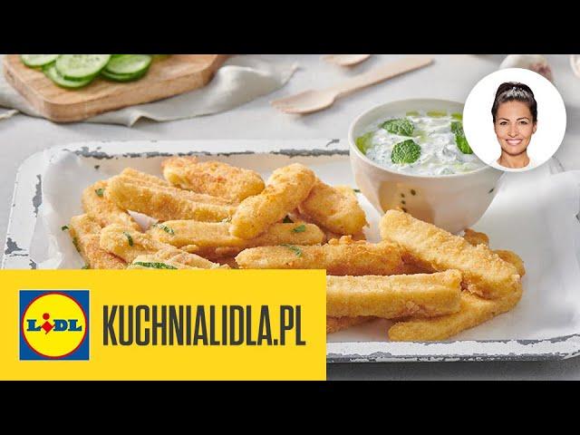 Frytki Z Halloumi Tzatziki Kinga Paruzel Kuchnia Lidla Youtube