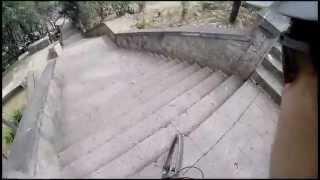 Gerardo Mendoza - Downhill escaleras de Santa Maria