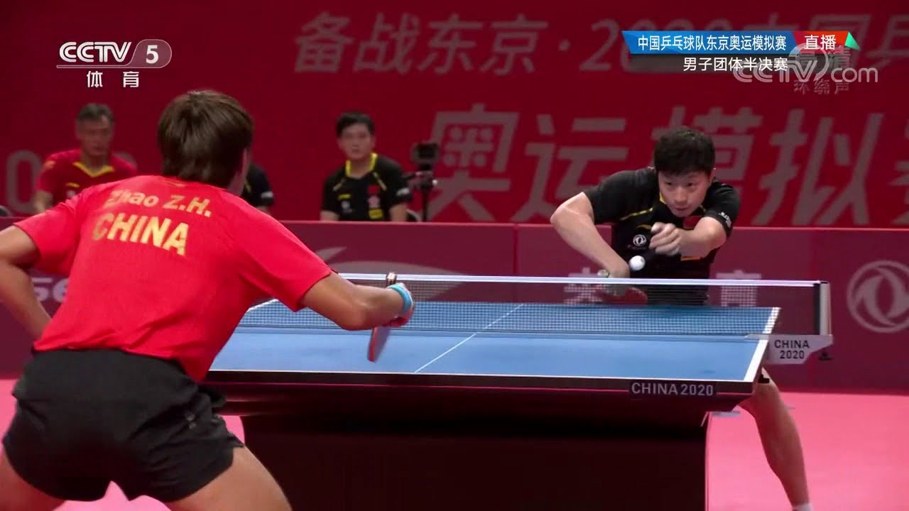 Download [HD] Ma Long vs Zhao Zihao | Semifinal Chinese Simulation for Tokyo 2021 (teams)