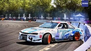 VOLTRONIC Germany MOTORSPORTS debut at 2016 Beijing CDC China Drift Competition