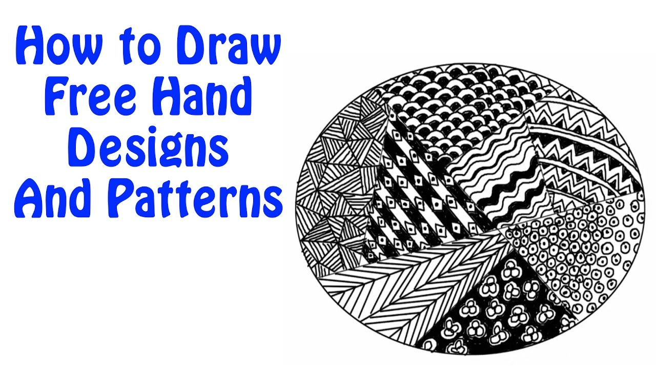 free hand design and patters for kids simple designs for kids basic drawing lessons for kids - Kids Free Drawing