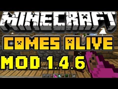 Minecraft mods Capitulo 17: Descargar e instalar Comes Alive mod para minecraft ...
