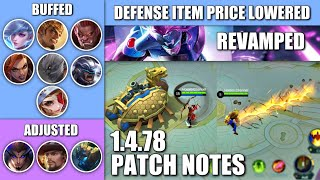 HERO REVAMPS ARE COMING! 1.4.78 PATCH NOTE AND HERO CHANGES!