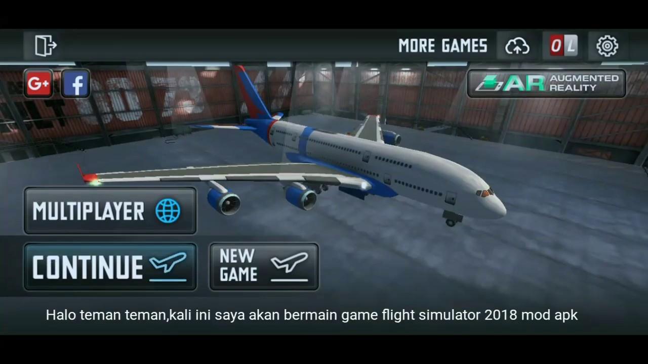 Flight simulator 2018 mod apk|Indonesia - YouTube
