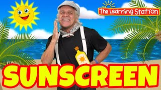 Summer Dance Songs for Children ♫ Sunscreen Song with Lyrics ♫ Kids Songs by The Learning Station