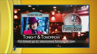 Comedian Josh Blue at the Funny Bone