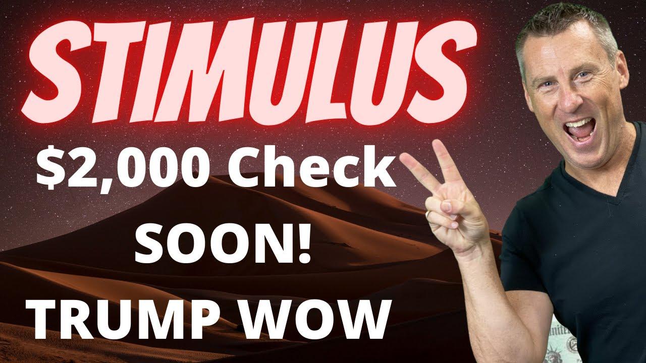 TRUMP DEMANDS $2000 Second Stimulus Check Update $900 Billion Stimulus Package SSI SSDI Unemployment