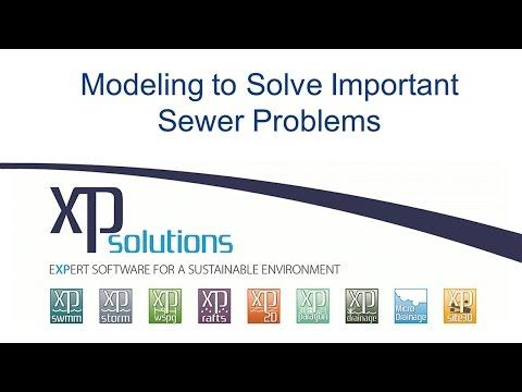 Modeling to Solve Important Sewer Problems