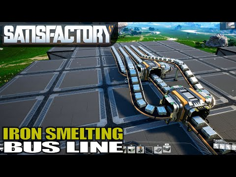 THIS AUTOMATION IS INEFFICIENT CAN YOU TELL WHY?   Satisfactory Gameplay   S01E05