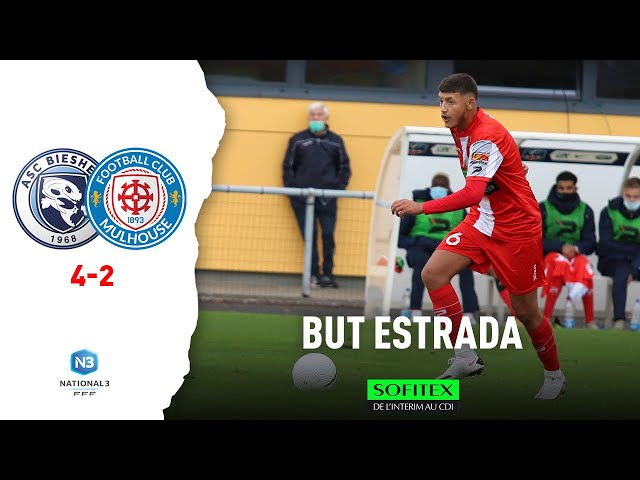 Biesheim / Mulhouse (4-2) : But de Kyllian ESTRADA
