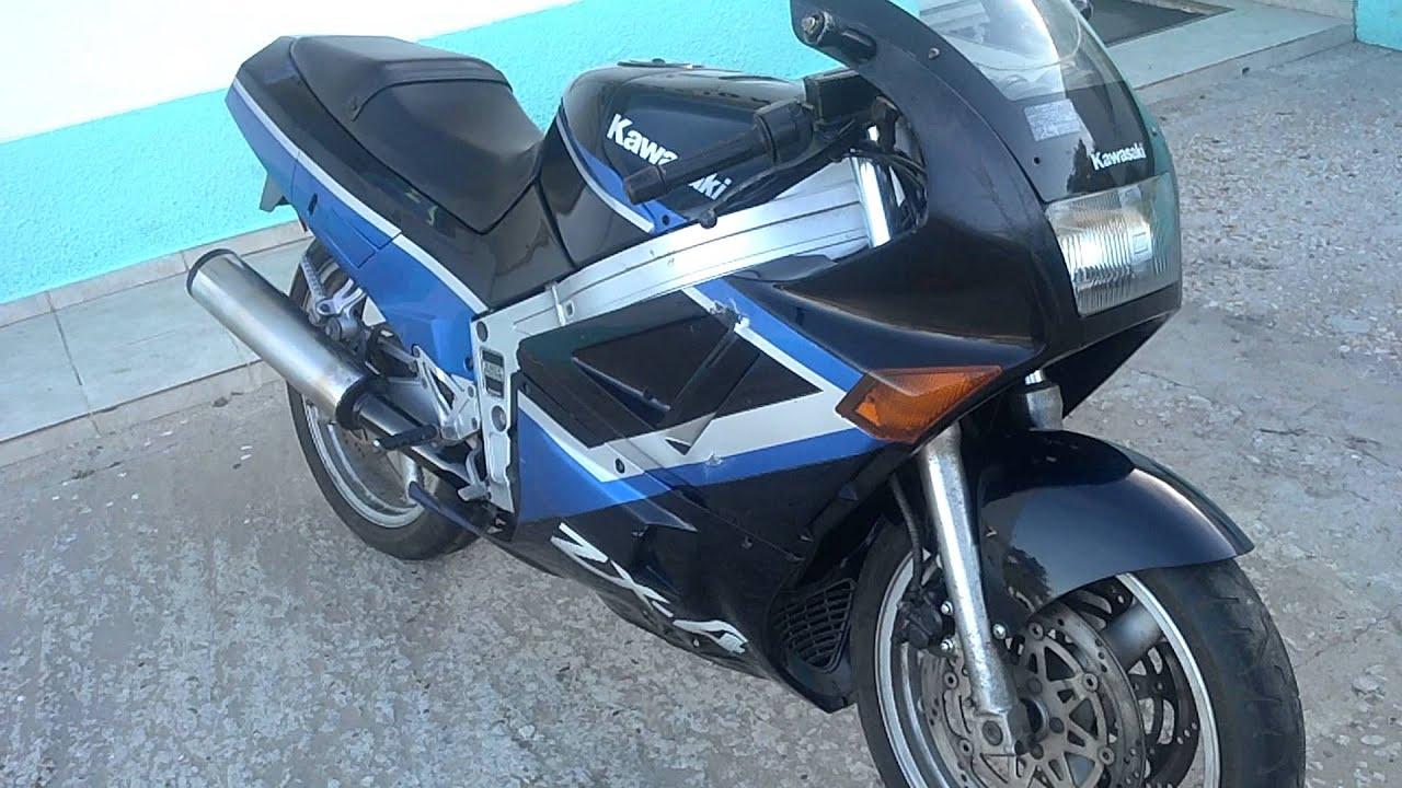 Kawasaki ZX4 - YouTube