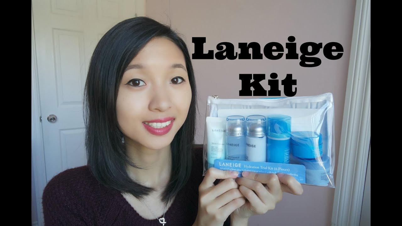 Laneige Hydration Trial Kit 6 Pieces Youtube Set Paket A