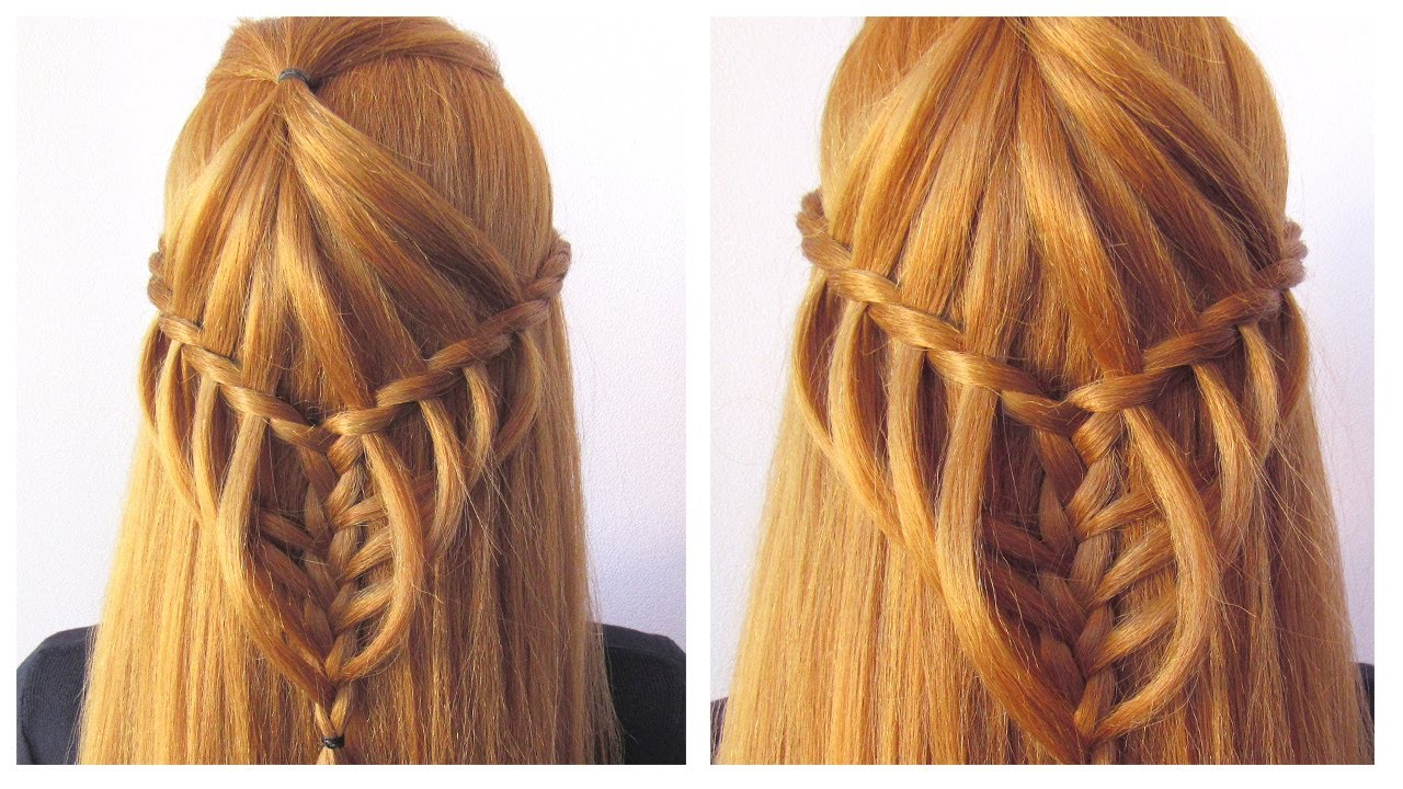 Easy Hairstyle For Beginners Step By Step 🔹 Cute Everyday Back To School Hairstyle
