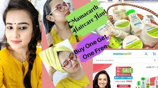 Huge Mamaearth Hair Care Haul Best Hair Care Routine Mamaearth Best Products SWATI BHAMBRA