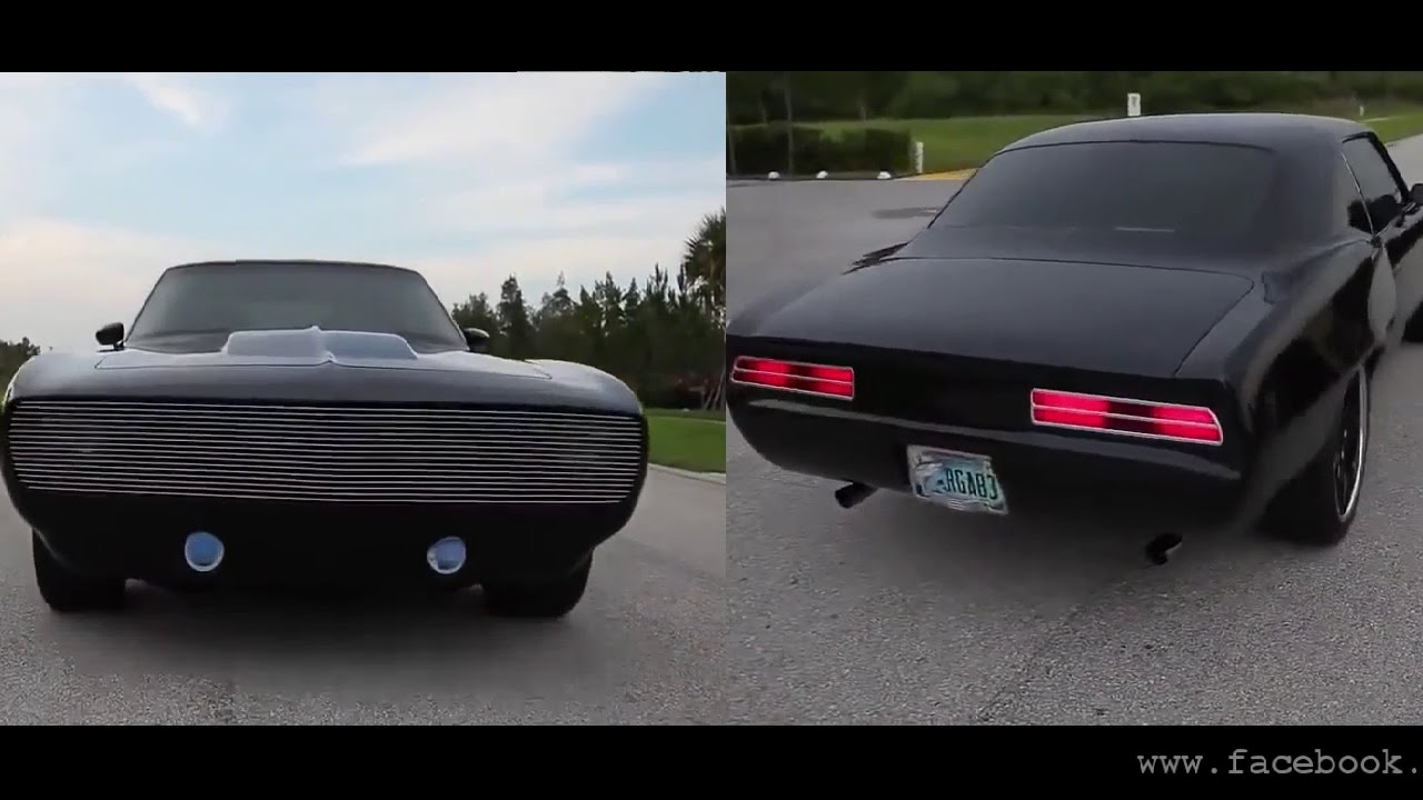 Mustang and Camaro 1967-1999 Models: Exhaust sound, Burnout and Acceleration || Classic Muscle ...
